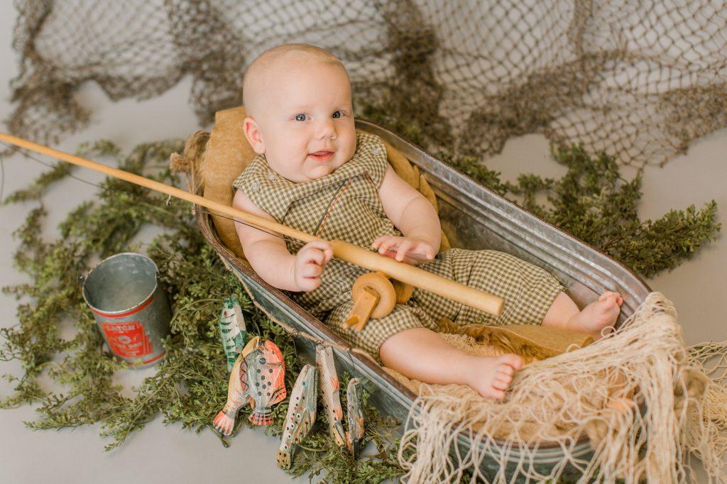 Nash – 3 Month Milestone – Fishing and Golf in Studio